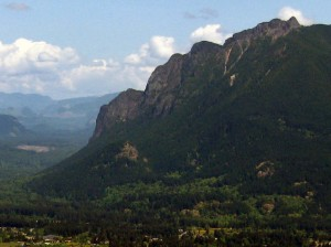 Mount Si from Rattlesnake Ledge