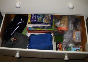 Grab and Go Hiking Station in a Drawer