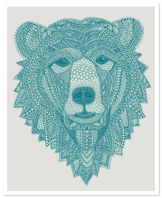 bear - Burton Snowboards - Claire Scully